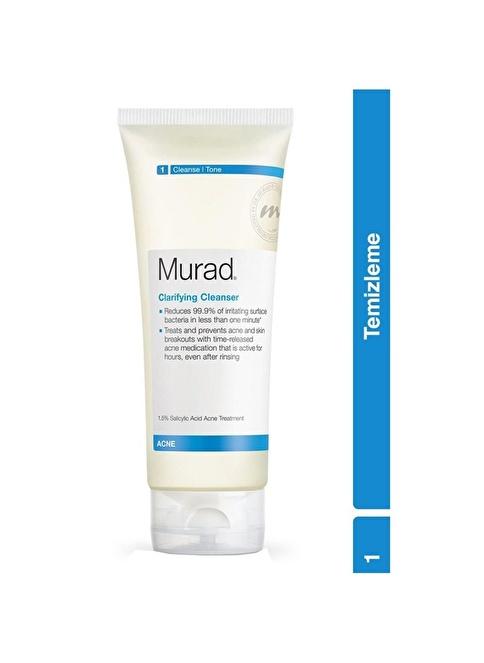 Murad Blemish Clarifying Cleanser - Yağlı Ciltler İçin Temizleme Jeli 200 ml Renksiz